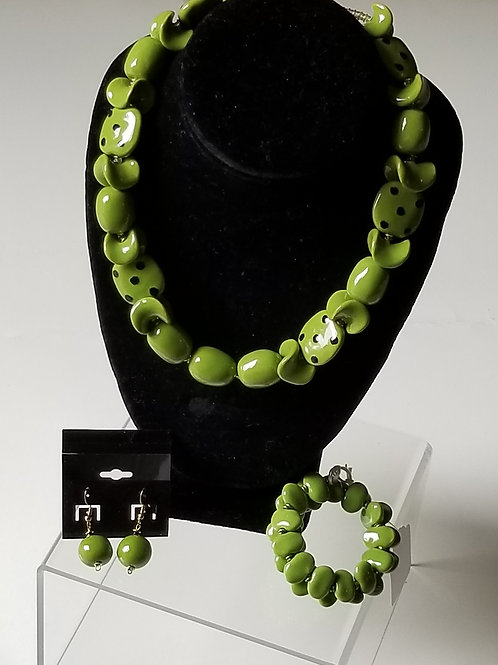 Agostine (set with earrings and bracelet)