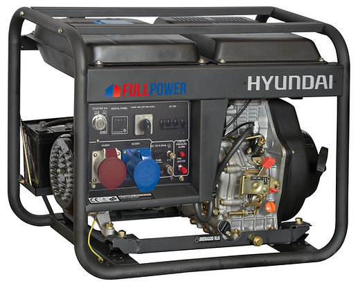 Agregat HYUNDAI POWER DHY8500LET 6,0 kW Diesel Full Power