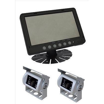 PARKSAFE PS026C10-2 kit kamera + monitor