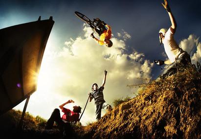 Športne kamere: Nori adrenalinski posnetki.