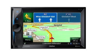 CLARION NX302E z navigacijo