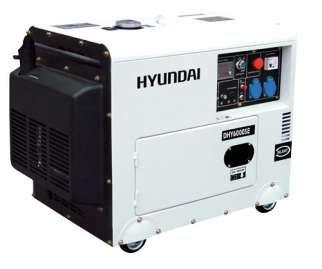 Agregat HYUNDAI POWER DHY6000SE 5,3 kW Diesel