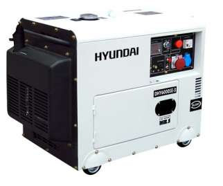 Agregat HYUNDAI POWER DHY6000SE-3 5,3 kW Diesel