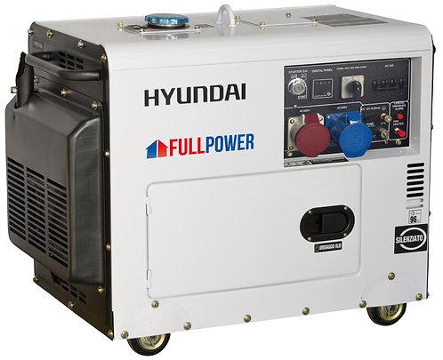 Agregat HYUNDAI POWER DHY8500SET 6,0 kW Diesel Full Power