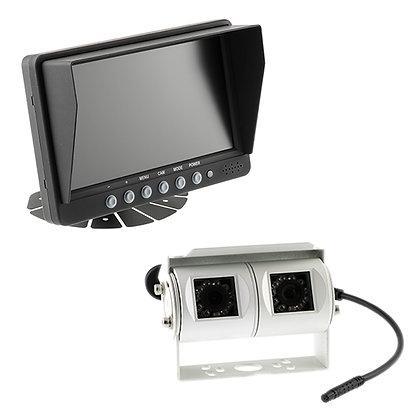 Kit PARKSAFE PS026C09W Dual lens camera kit
