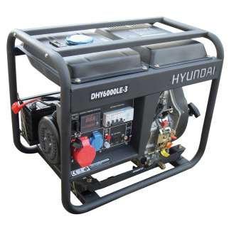 Agregat HYUNDAI POWER DHY6000LEK-3 5,3 kW Diesel