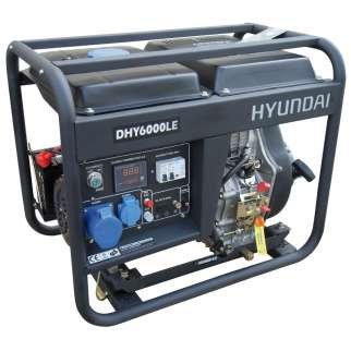 Agregat HYUNDAI POWER DHY6000LEK 5,3 Kw Diesel