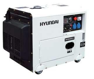 Agregat DHY8000SE 6,3 kW Diesel