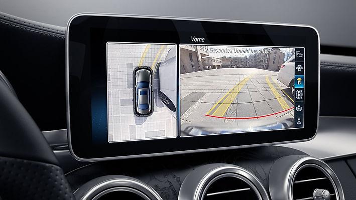 monitor, zaslon, vzvratna kamera, kamera za vzvratno vožnjo, parkirna kamera