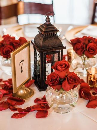Lantern & Glass Bowl Vases
