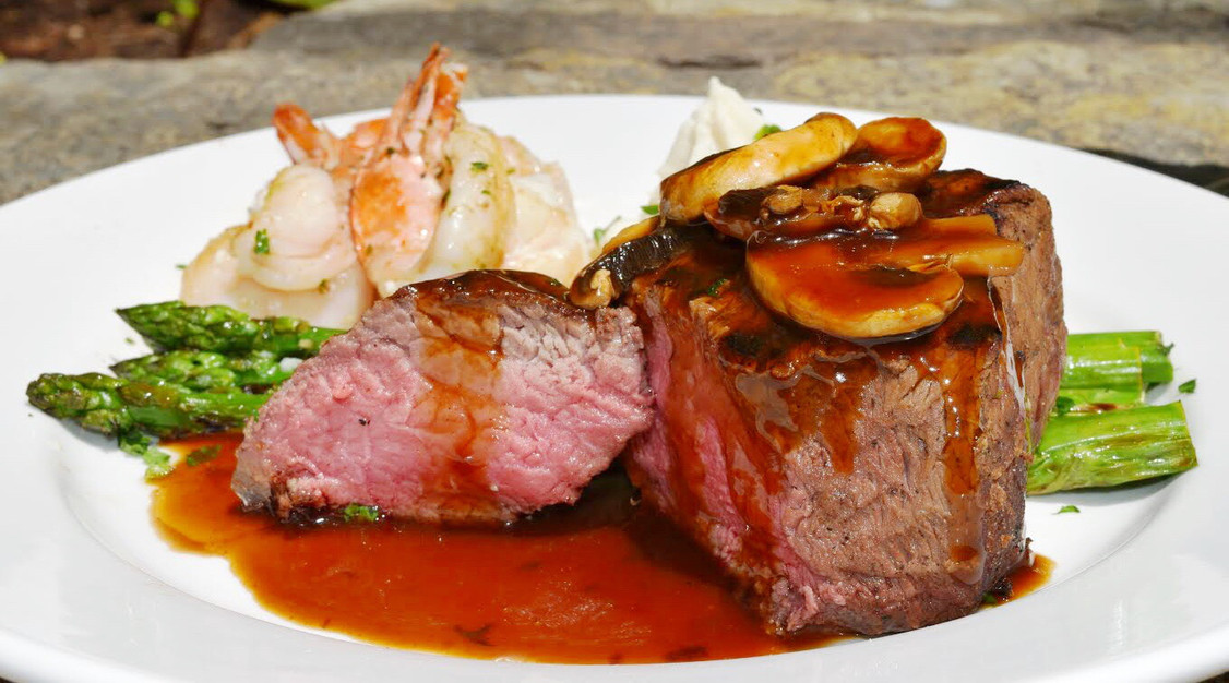 Beef Tenderloin & Shrimp Duet