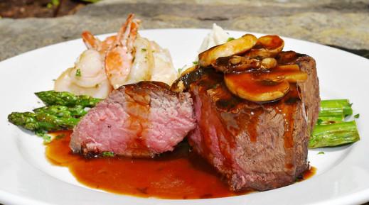 Beef Tenderloin & Shrimp Duet