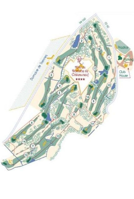 Parcours 18 trous Golf de la Sainte Baume en Provence