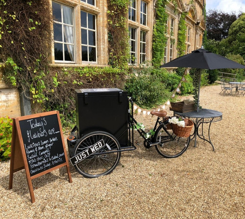 Ice Cream trike - brympton house