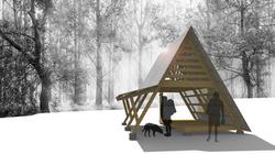 designing primitive huts