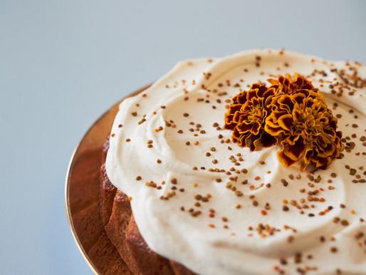 Honey Cake with Honey Cream Icing - By Jordan Rondel