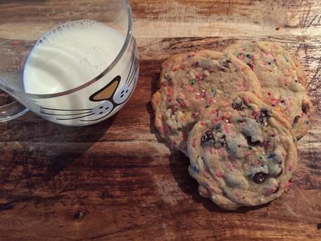 BIRTHDAY CAKE COOKIES | baking