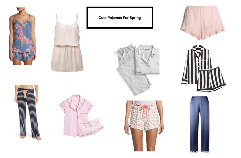 cute pajamas for spring