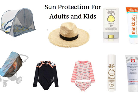 MY FAVOURITE SUN PROTECTION PRODUCTS | lifestyle
