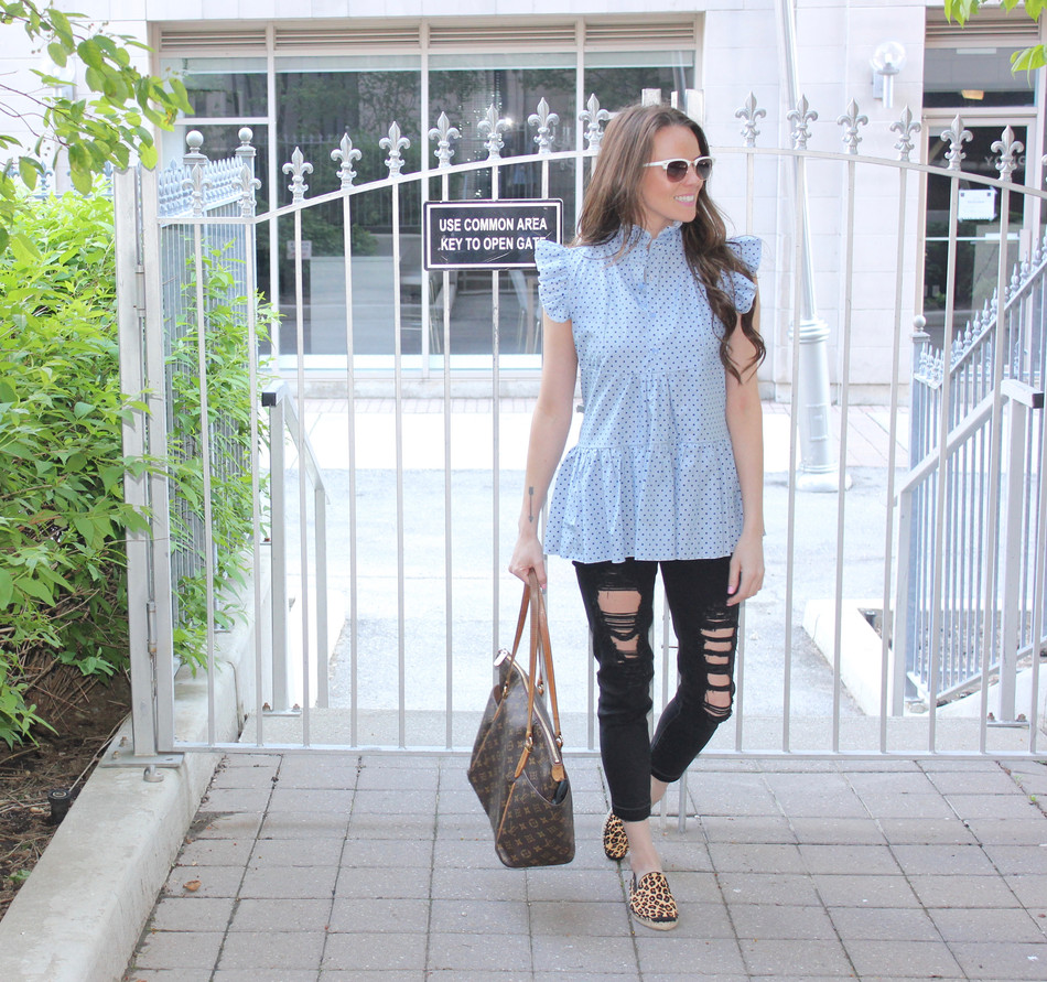 A HINT OF LEOPARD | fashion