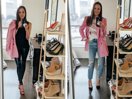 STATEMENT BLAZER 4 WAYS | fashion