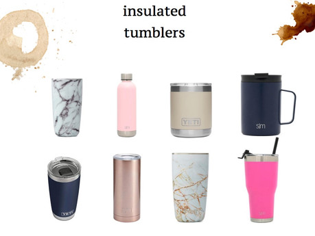 HOT AND COLD TUMBLERS | lifestyle