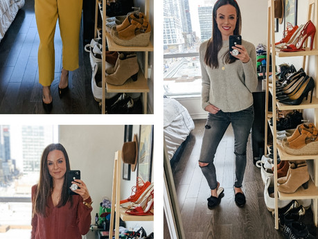 OUTFITS LAST WEEK | fashion