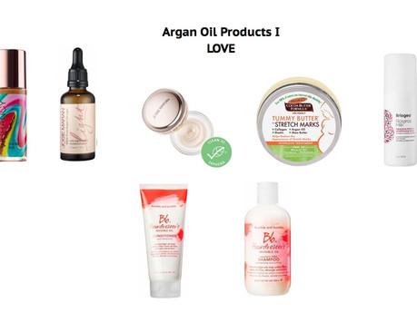 ARGAN OIL PRODUCTS I LOVE | beauty
