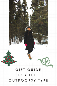 gift guide for the outdoorsy type