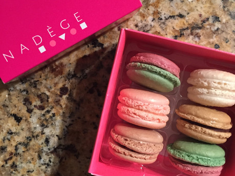 MACARON DAY & DINNER AND A MOVIE | weekend post cards