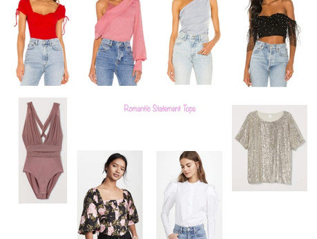 ROMANTIC STATEMENT TOPS | fashion