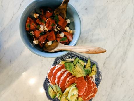 FRESH SUMMER SALADS | cooking