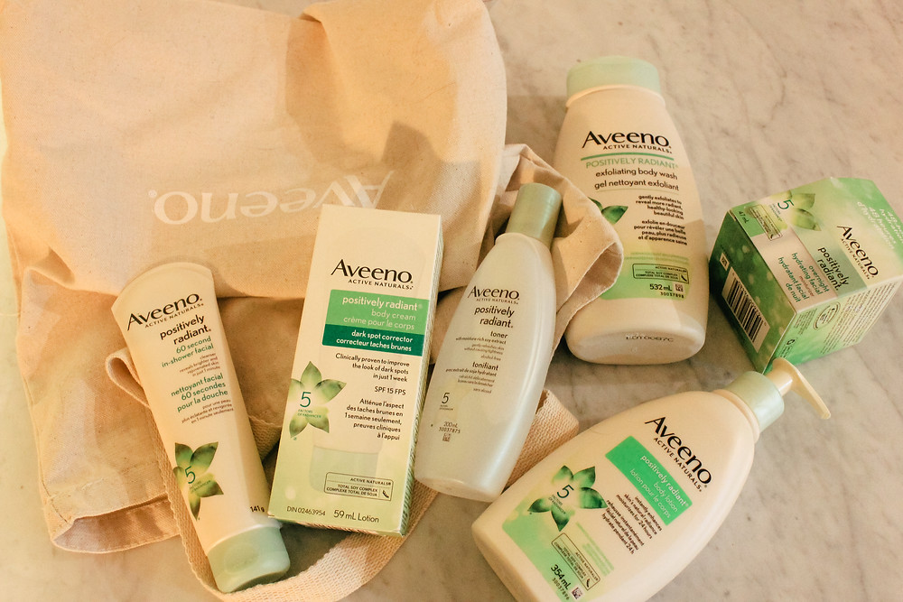 Aveeno positively radiant