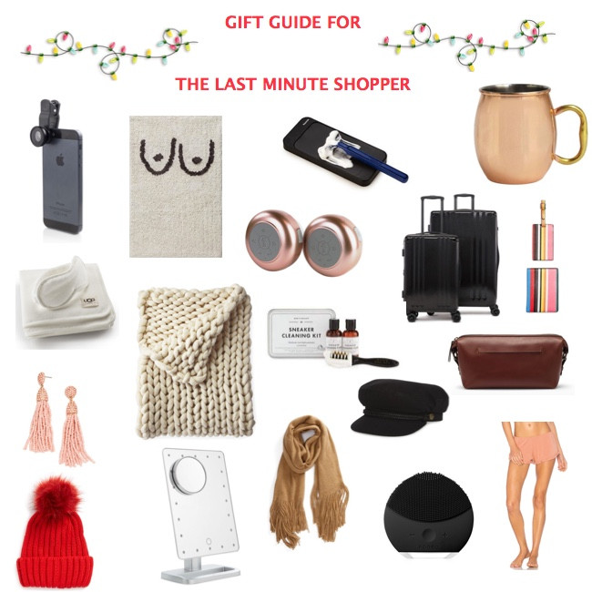 Last minute gift guide