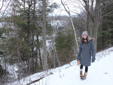 TRAIL MIX | Spiked Hot Chocolate On The Niagara Escarpment