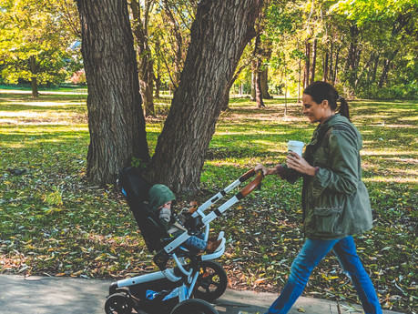 THE QUINNY MOODD STROLLER REVIEW | baby
