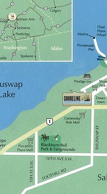 Condominium, Salmon Arm, Shoreline, Lakeside
