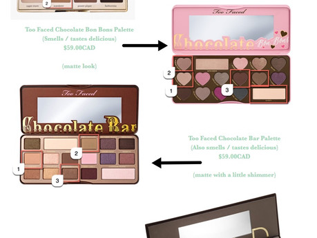 WORKING EYES | best eyeshadow palettes for the office