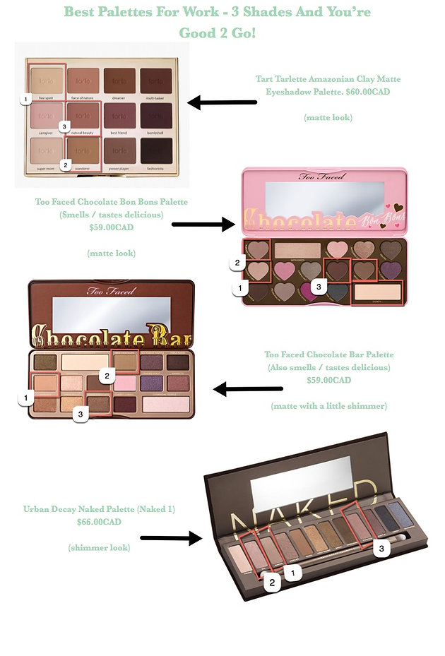 Working Eyes Best Eyeshadow Palettes For The Office