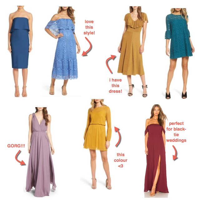 dresses for a fall wedding