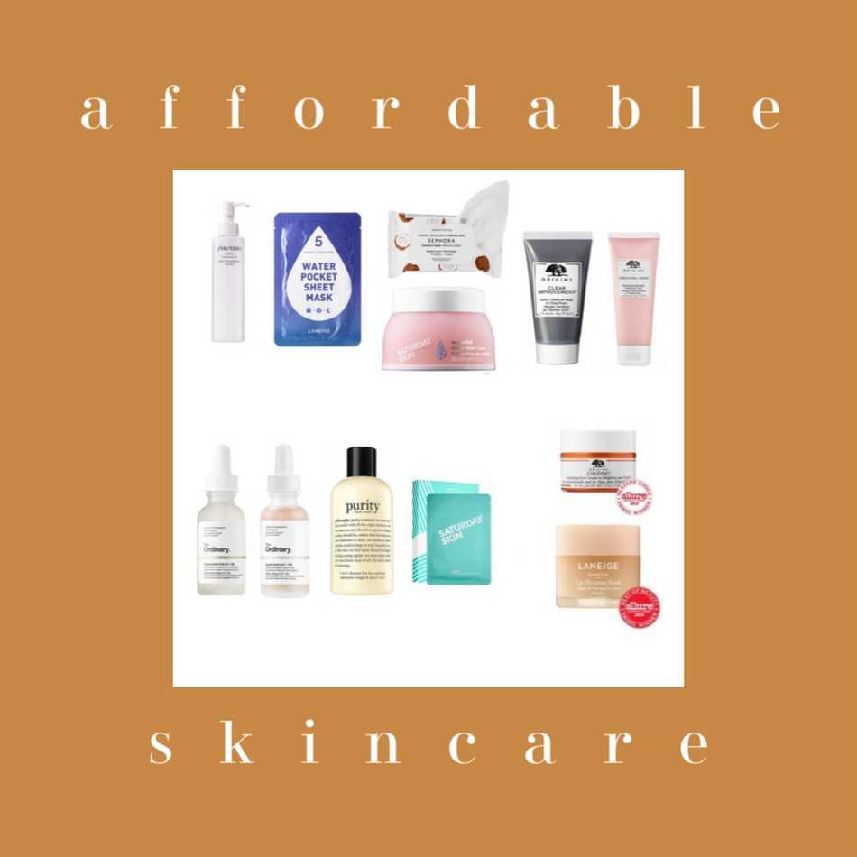 AFFORDABLE HIGH-END SKINCARE PRODUCTS   friyay affordable