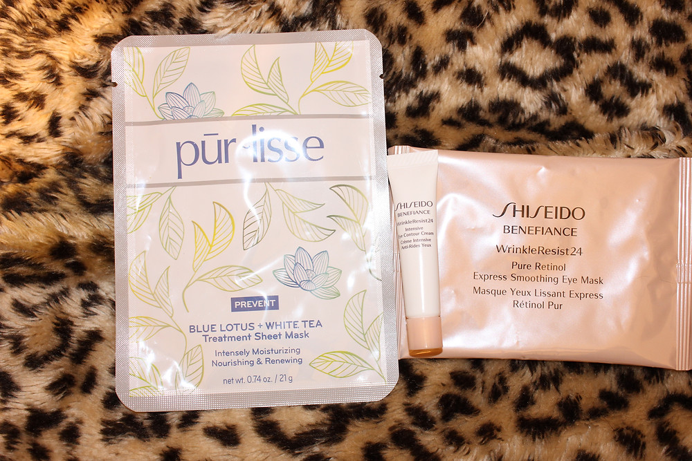 sheet and eye mask