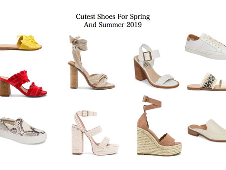 CUTEST SHOES FOR SPRING AND SUMMER 2019 | fashion