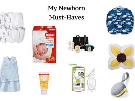 MY NEWBORN MUST-HAVES | mom-it monday's