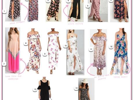 MAXI DRESSES | friyay affordables