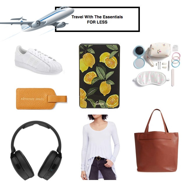 travel essentials for less