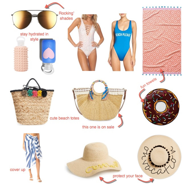 beach day accessories