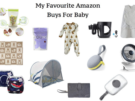 MY FAVOURITE BABY BUYS ON AMAZON