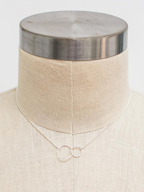 31 Bits - Infinity Necklace (Silver)