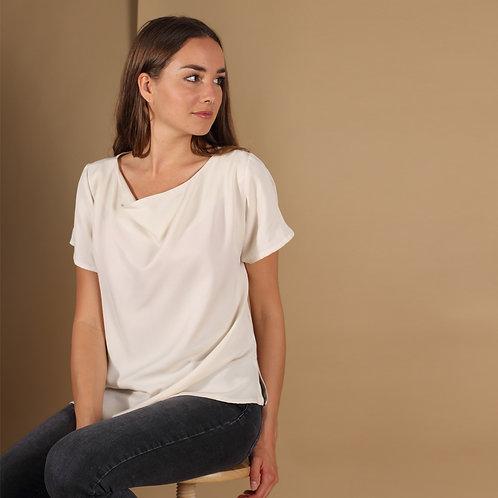 ManduTrap - Frida Tencel Shirt (White)